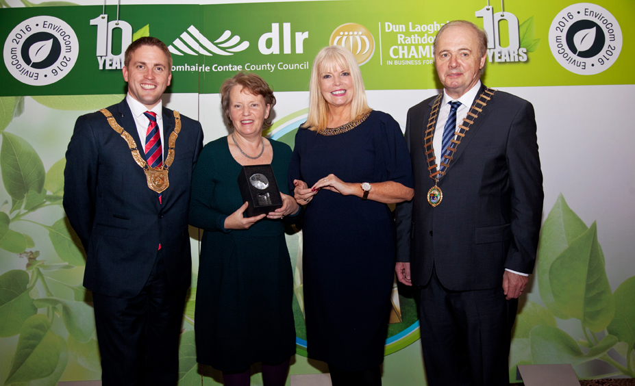 DLR Chamber, Envirocom 2016 Awards, held at the Royal Marine Hotle, Dun Laoghaire, Co.Dublin. November 2016