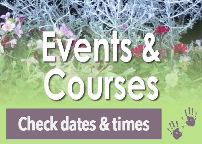 Gardening Courses Gardening Events Gardening Workshops and Classes Timetable and dates calendar