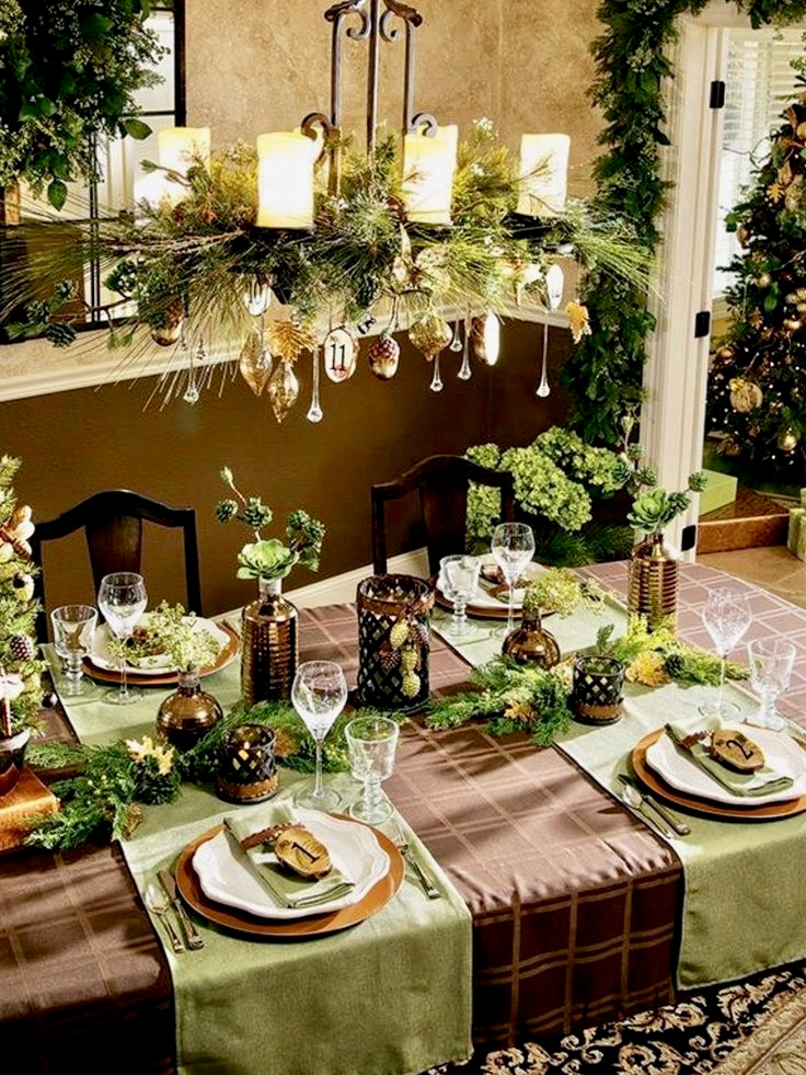 Christmas floral decorations saturday 30 november 2019 2pm - Christmas table setting ideas ...